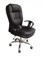 Black Soft Leather Executive Chair