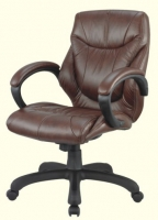 Genuine Leather Middle Back Executive Chair