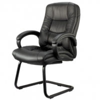 Genuine Leather Guest Chair