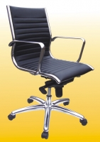 Middle Back Aluminum Base Chair