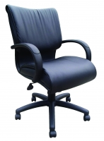 Middle Back Leather Executive Chair
