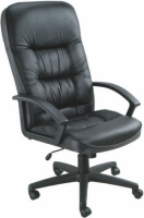 Plush Leather Executive Chair